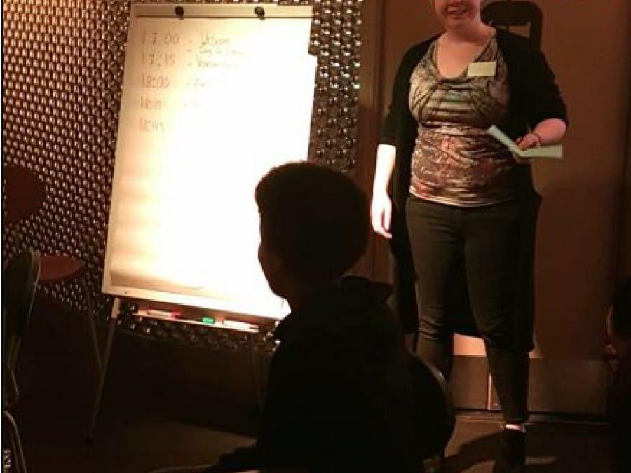 GSA brainstormt in COC Café