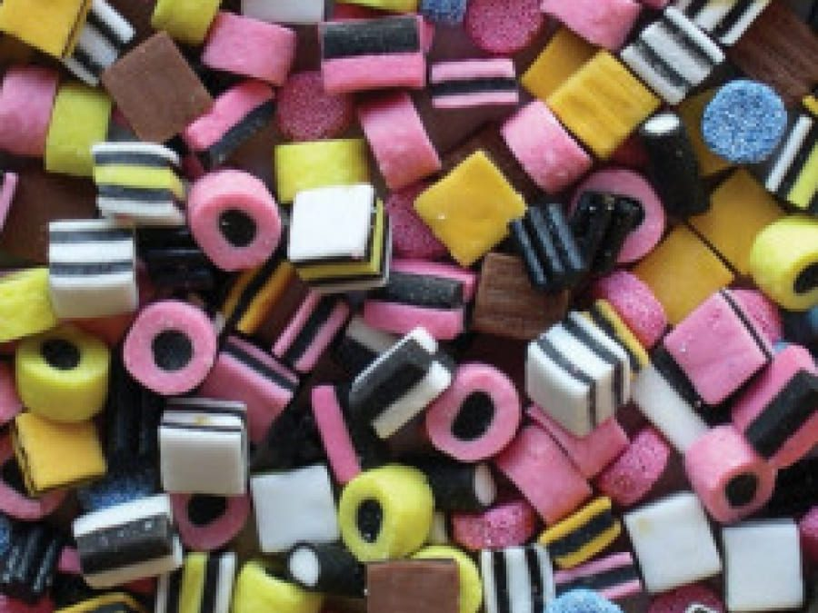Liquorice all sorts competition