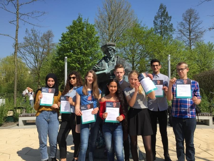 Slotbijeenkomst Erasmus project
