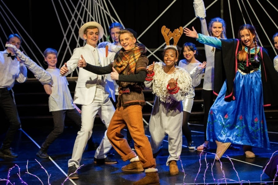 Betoverende musical 'Frozen'