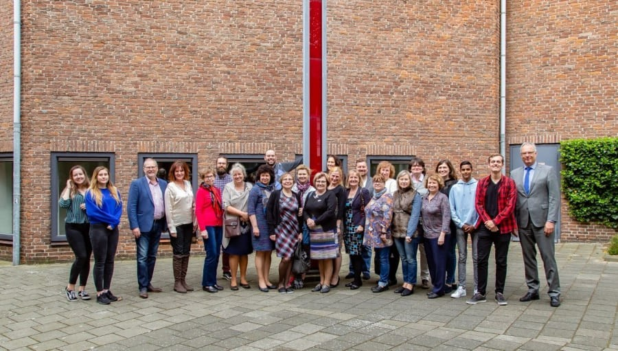 Bezoek van collega's uit Estland