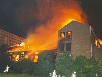 Grote Brand Hofstad Lyceum