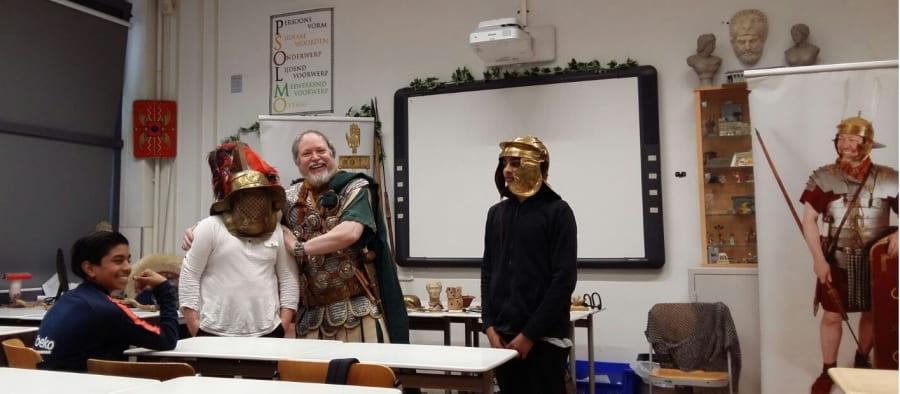 De Romeinen op bezoek