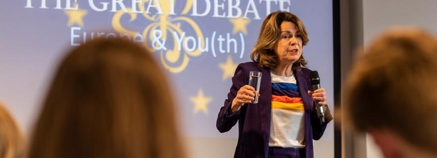 Kennismaken met EU en debatteren